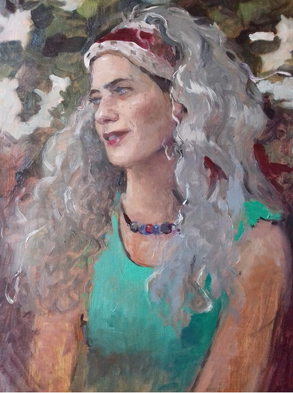 Retrato de Cynthia